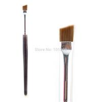 Professional Sable Hair Angled Eyebrow Brush Powder Eyebrow  Makeup Tools Free Shipping