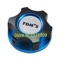 TOMS Modified oil caps Aluminum fuel oil cap engine oil filter cap for Toyota