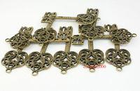 20pcs/lot 60mm  OLD Look Antique Skeleton Vintage Steampunk keys Assorted Styles Wedding Favor Gifts