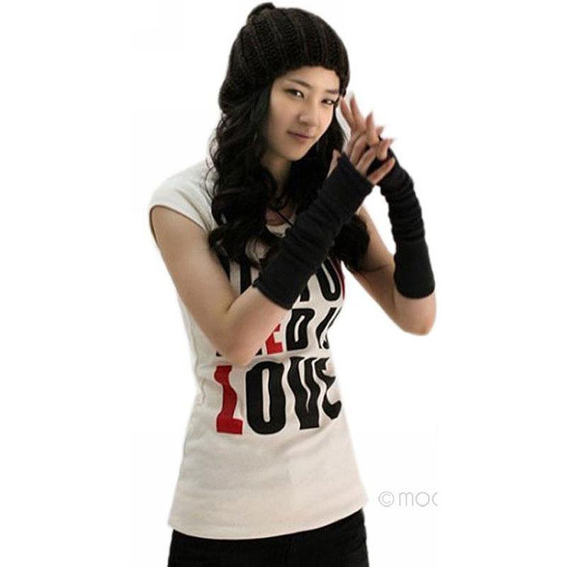 2015 New Fashion Unisex Autumn/Winter Hand Arm Gloves Crochet Knit Long Stretchy Warm Fingerless Gloves Women Men Y52*PJ110#M5(China (Mainland))