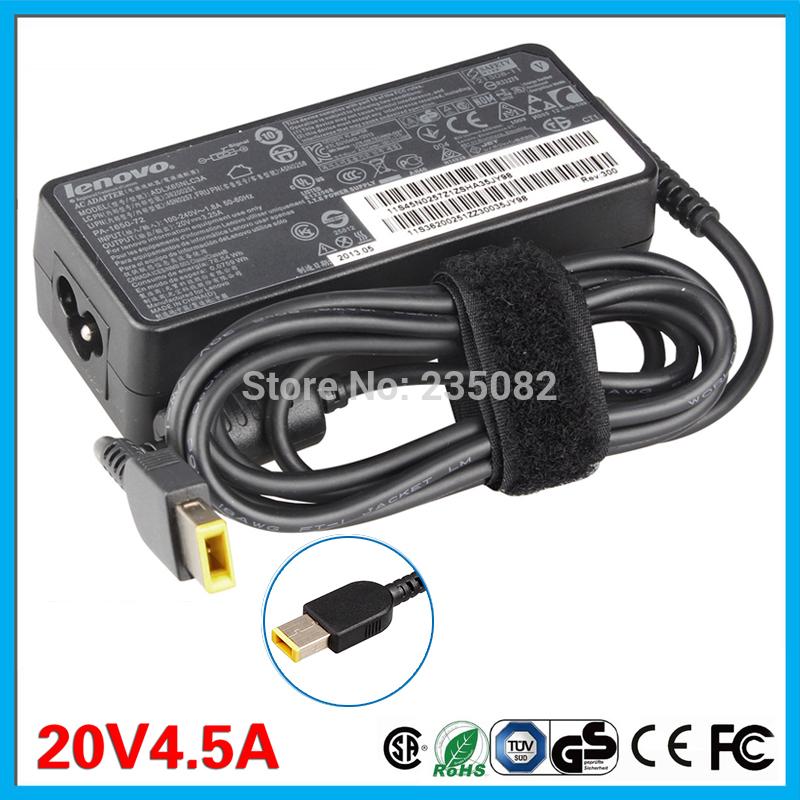 Original 90W 20V 4.5A AC Adapter Charger For Lenovo ThinkPad X1 Carbon Series 344428U 344428U N3N25UK Touch Ultrabook 45N0238(China (Mainland))