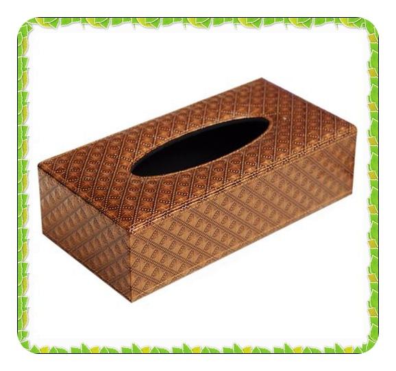 Decorativas tampas de caixas de tecido retangular(China (Mainland))