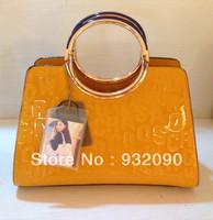 Counters authentic handbags shoulder bag handbag  letters  paint