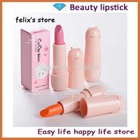 Wholesale 3pcs brand makeup lip stick cat girl high quality lipstick rouge matte make up lipstick H0973 free shipping