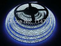 5M/Roll LED Strip IP67 Waterproof 300pcs LED SMD 3528 LED Lighting 12V 60LED/M Flexible Waterproofing Casing Free Shipping