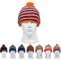 10pcs Winter Men Women Ski Skull Caps Mens Womens Skiing Beanies Hats Outdoor Sport Cycling Beanie Cap Climbing  Snowboard Hat