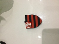 Hot!!! Cartoon Flamengo Clube logo  USB  Flash pen DriveEnough Memory Stick  1GB-32GB DROP+ Free shipping