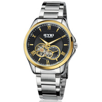 EYKI Brand Automatic Mechanical Hand Wind Watch for Men / Men's Steel Wrist Watches With Roman Numbers / High Quality EFL8628AG
