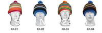 10pcs NEW COOL Winter Men Women Ski Skullcaps Mens Womens Skiing Beanies Sports Cap Running Beanie Cycling Hat Snowboarding Hats