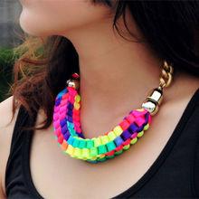 popular chunky link necklace