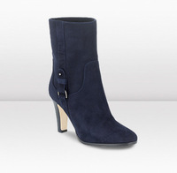 Brand outlet,Original Original Jimmy MELO Navy Suede Ankle JC Boots free shipping