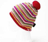 Wholesale 10pcs Fashion Winter Men Women Ski Skullcap Mens Womens Skiing Beanies Sport Hat Cycling Beanie Caps Snowboarding Hats