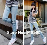 Newest Women's denim pants Jeans/fashion ladies' Pencil Slim pants Trousers Skinny Legging pants Long trousers good quality/WTE