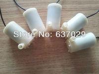 Free shipping 5Pcs x Micro DC 3V-6V horizontal submersible pump for watering / DIY toys / solar pumping