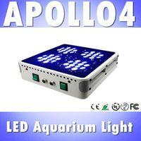 Apollo 4 48*3W LED aquarium light White: Blue=1:1 for saltwater reef, high power led aquarium fish panel light (Customizable)