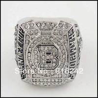 Free Shipping High Quality Replica Silver Crystal 2011 Boston Championship Ring