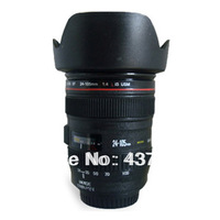 Hot Selling Canmin Lens EF 24-105 mm Long Coffee Cup Mug  Free shipping  T0393 T15