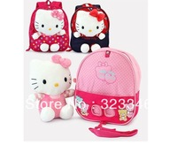 New 2014 hello kitty children's school bags /child backpack / children school cartoon kids bag mochila infantil Freeship instock