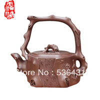 Made by the famous master, have a collection of certificates,2013 new purple teapot jade yixing teapot mei pile  free shopping