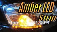 LED Amber Flexible Strip Blinker Indicator Free Shipping!!! Excellent Quality!!! One Year Warranty!!!