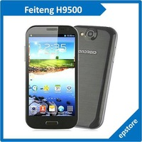 Feiteng H9500 S4 Smart Phone Android 4.2 MTK6589 Quad Core 5.0 Inch HD IPS Screen Cell Phone Retail and Wholesale free shipping