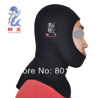 Sturgeon dragon 3 mm diving hood SBR material waterproof hood diving cap swimming cap  FREE SHIPPING HIGH QUALITY FAMOUS BRAND