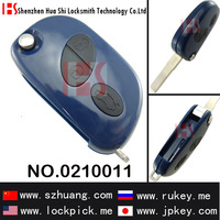 Brand new auto 3 button remote key shell with logo for maserti car/0210011