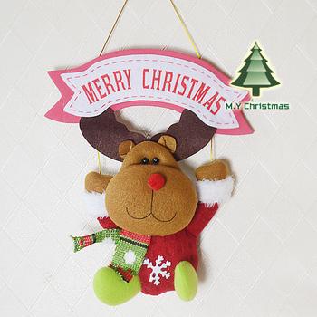 2013 new arrival Indoor Christmas Hanging Ornaments Decoration Santa Claus Snowman Deer