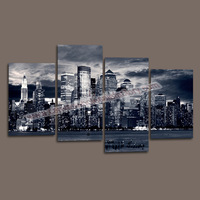 Cheap Custom Canvas Picture Prints from Digital Photos onto Canvas for Modern Home Living Room Decoration -- New York Canvas