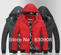 Hot! 2013 Newest design fashion High quality men down jacket Men's winter overcoat/Outwear/Winter jacket free shipping 3 colors