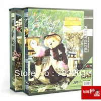 Quality child cartoon baby photo album big 4d 6 memorial with thin book