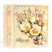 Fresh flowers photo album memorial quality 4d 6 360 thin big ben