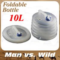 Portable folding outdoor sports  foldable bottles water bottle bag 3L
