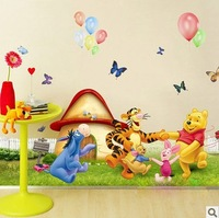 2013 New Arrivals for 50*70cm DIY PVC children special cartoon lovely room decorate can remove wall stickers FREE SHIPPING