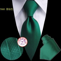 Free shipping hot sale green stripped 2pc/lot Men's Microfiber Neckties fashion tie neck ties striped #S0011260Ac
