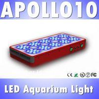 Apollo 10 120*3W LED aquarium light White: Blue=3:2 full spectrum reef coral tank light, White 12000k &Blue 460nm (Customizable)