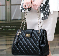 women messenger bag 2013 new Korean female bag Quilted Spiraea metal chain tassel portable shoulder bags women handbag