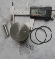 PISTON KIT 49MM  FOR CUT OF SAW TS400 &MORE FREE POSTAGE CONCRETE SAW KOLBEN W/ PIN CLIP REBUILD KIT REPL. OEM P/N 4238 030 2003