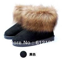 SNB010 2013 winter new fashion ladies' warm flat snow boots women new hot shoes christmas boots Free shipping