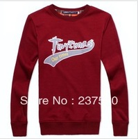 2013 autumn clothing new men's sweater, Slim, round neck, pullovers, plus velvet, casual sweater, Outerwear  Sweatshirts