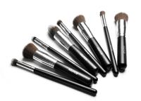 Professional 8pcs black Foundation blush Liquid brush Kabuki Makeup Brush Set Cosmetics Tool  ZH113  Alishow