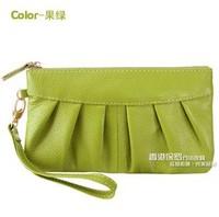 Genuine leather 2013 women's day clutch women's clutch coin purse female bags clutch bag