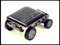 free shipping,Interesting World's Smallest Solar Powered Car solar energy car solar energy toy
