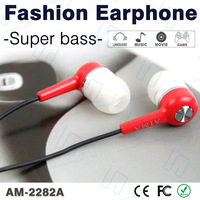 Discount Price!Original AIMA, New Earphones of High Quality,with Stereo Sound,Fashion Design,Hard Box Packing,Free Shipping