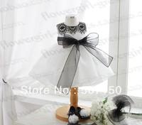 2014 Elegant lace princess dress flower girl dresses Baby piano dress kids performance wear female child evening dress 1-8 year