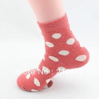 Free Shipping rabbit wool socks female socks women's autumn and winter thickening thermal knee-high socks