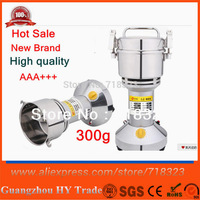 New 2014 Brand Grinding Machine 300g Portable Grinder Nutmeg Spice Buckwheat  Flour Food Mill Pulverizer Chemical Grinder