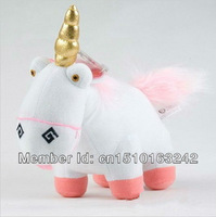 Cartoon Movie Despicable Me 2 Unicorn Plush Toy Soft Stuffed Animal Doll 9'' One Piece For Kids Gift Retail & Dropshipping