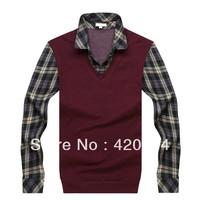 Free Shipping, New Coming Mens T shirts Fashion 2013, FULL Plus Size Formal Male T-shirts, Pyrex Vision Men T shirt B3688