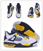Free Shipping 2013 New Colors J4 Retro Men Basketball Shoes JD4 Retro Shoes JR4 Shoes J 4 Mens Sneakers Shoes Top Quality 41-47